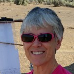Terry Olson. Weaving in the Desert
